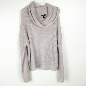Express Sweater Cowl Neck Oversized Small